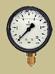Bourdon-tube pressure gauge
